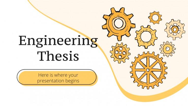 Abschlussarbeit Ingenieurwesen Präsentationsvorlage