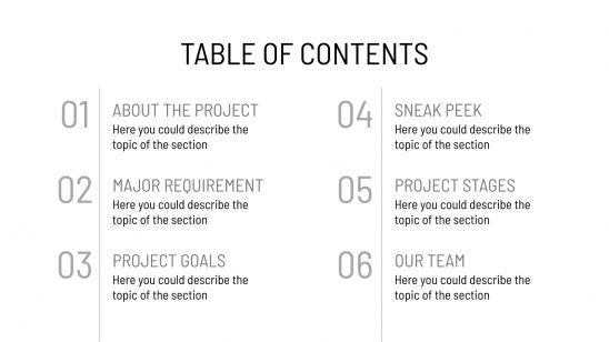 Proposition de projet photographique : Modèles de présentation