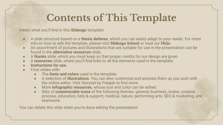 Generation of '27 presentation template