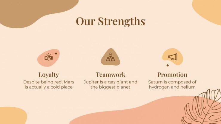 Beauty Salon Company presentation template