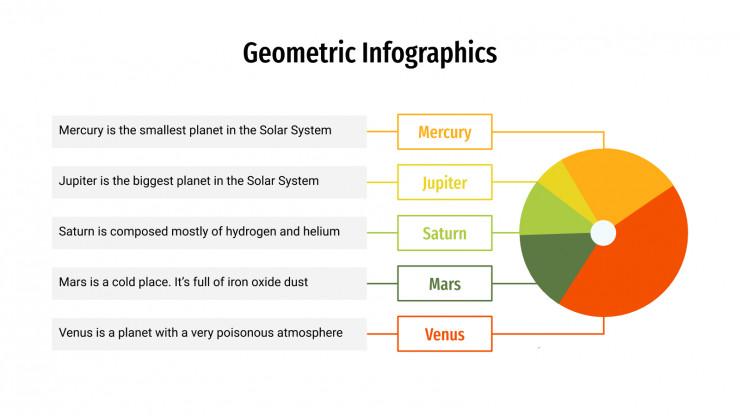Geometric Infographics presentation template