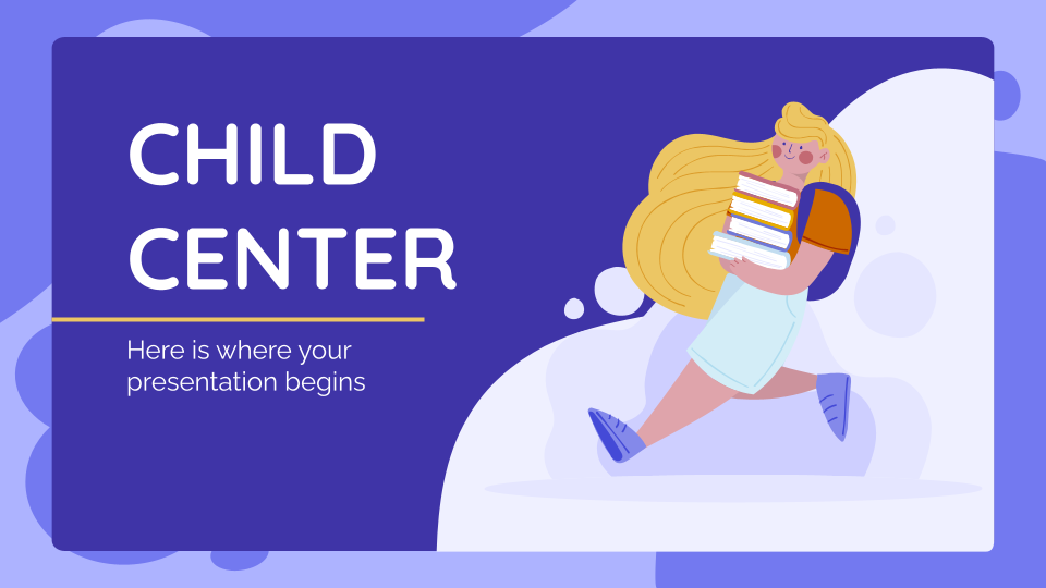 Child Center presentation template