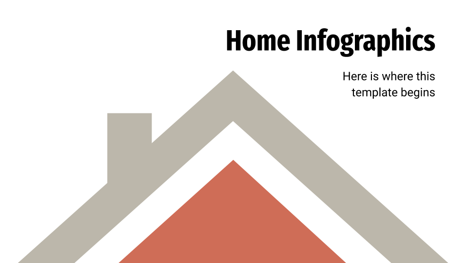 Home Infographics presentation template