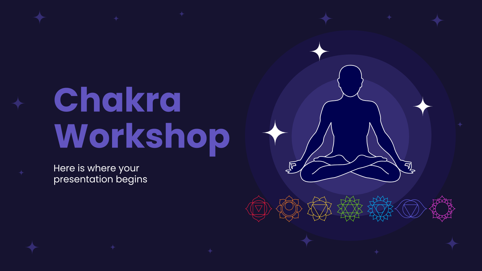 Chakra Workshop presentation template