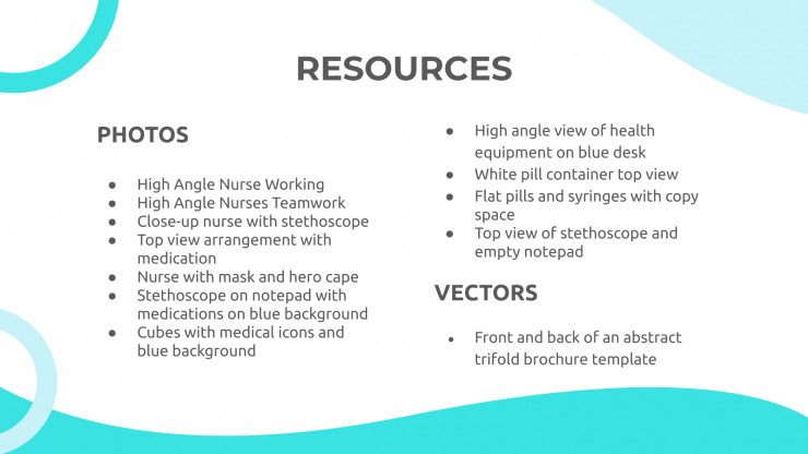 Miness Medicine presentation template