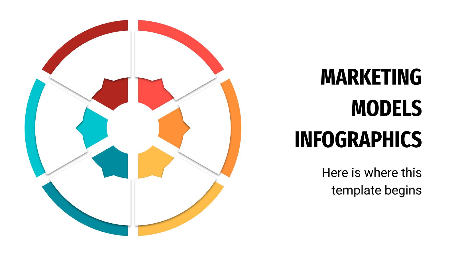 Infographies de modèles de marketing : Modèles de présentation