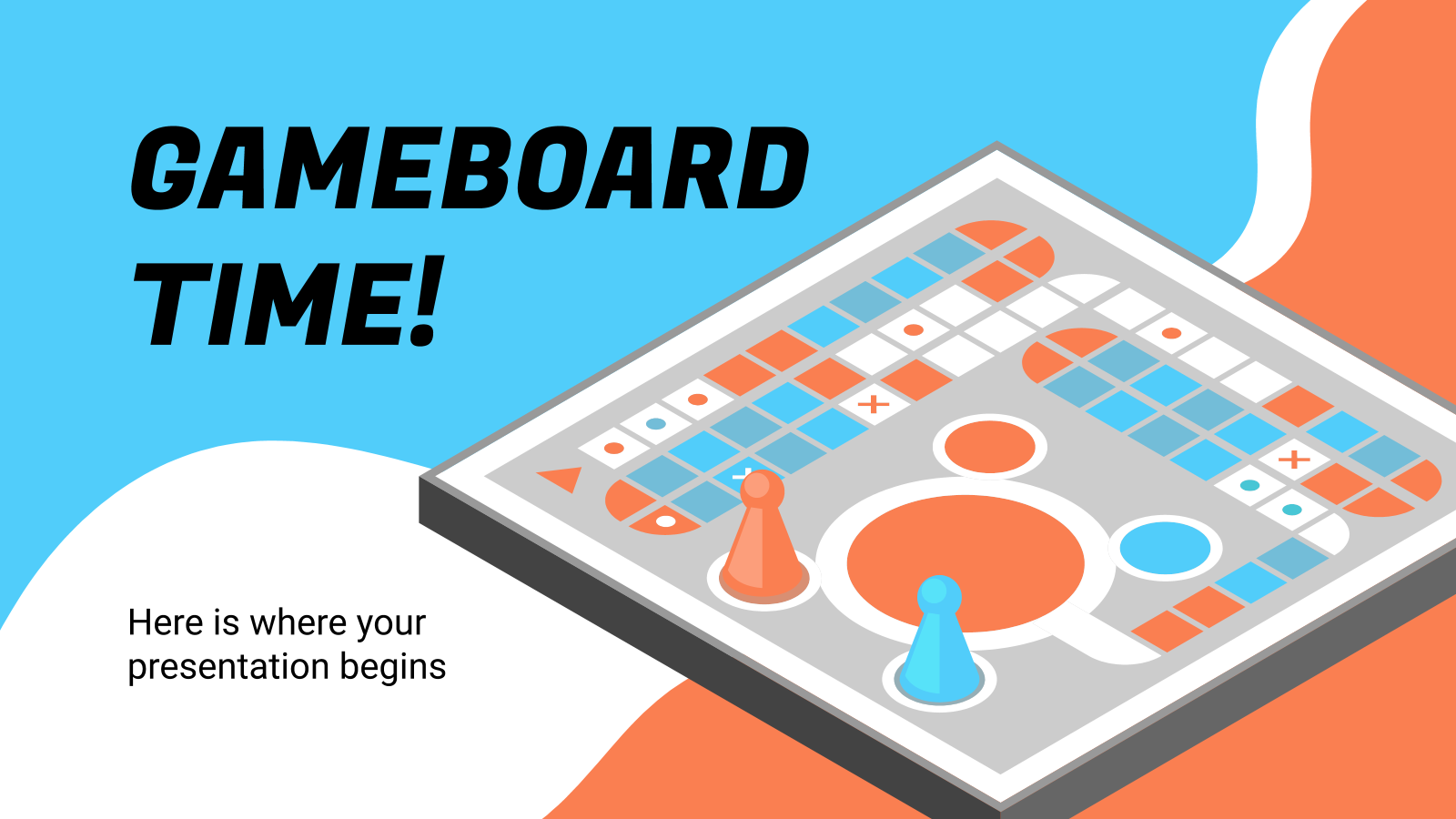 Gameboard Time! presentation template