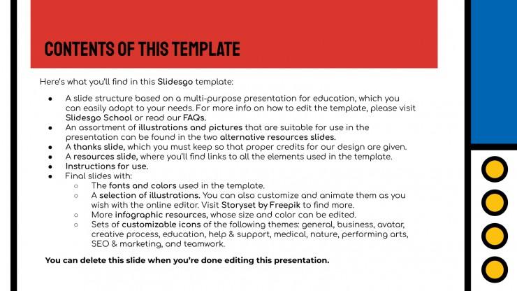 Piet Art History Lesson presentation template