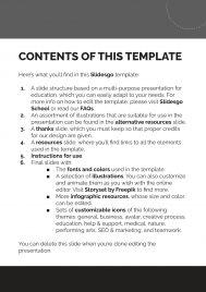 Plantilla de presentación Facturas modernas y simples