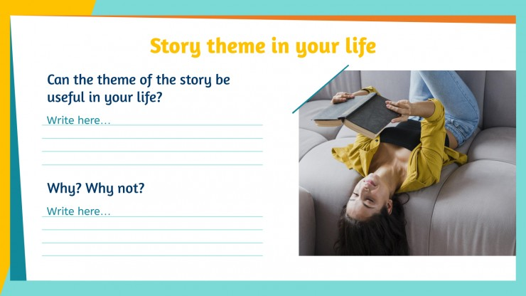 Story Theme Cards presentation template