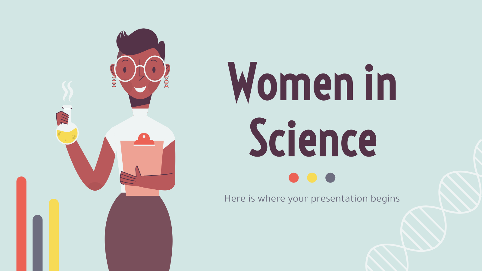 Women in Science presentation template