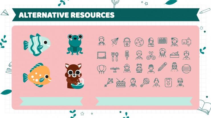 Pre-K Daily Seasonal Calendar presentation template