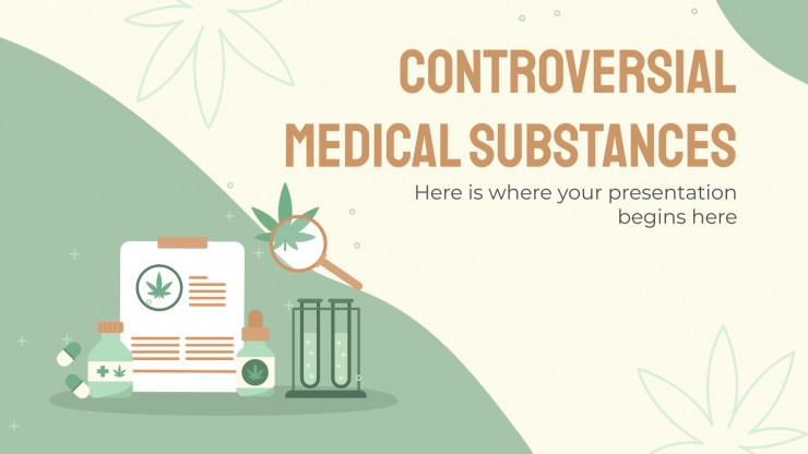 Controversial Medical Substances presentation template