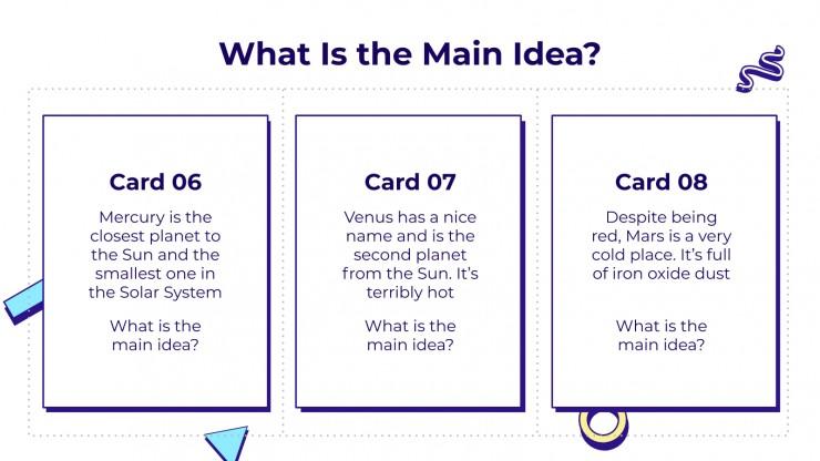 Modelo de apresentação Cartões de tarefas