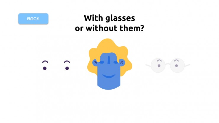 Jeu pour créer votre avatar : Modèles de présentation