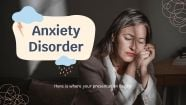 Anxiety Disorder presentation template