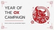 Year of the Ox Campaign presentation template