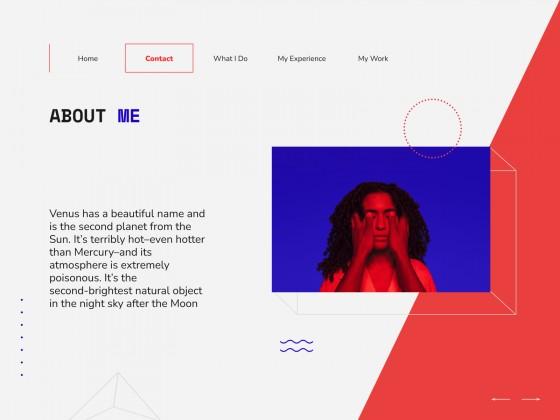 Portfolio interactif Asher : Modèles de présentation