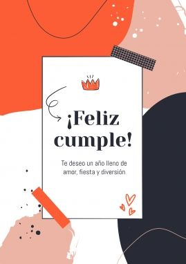 ¡Feliz Cumpleaños Amiga! : Modèles de présentation