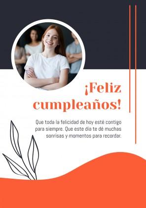 ¡Feliz Cumpleaños, Amiga! presentation template