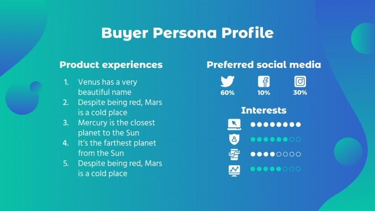 Plan marketing pour les publicités en ligne : Modèles de présentation