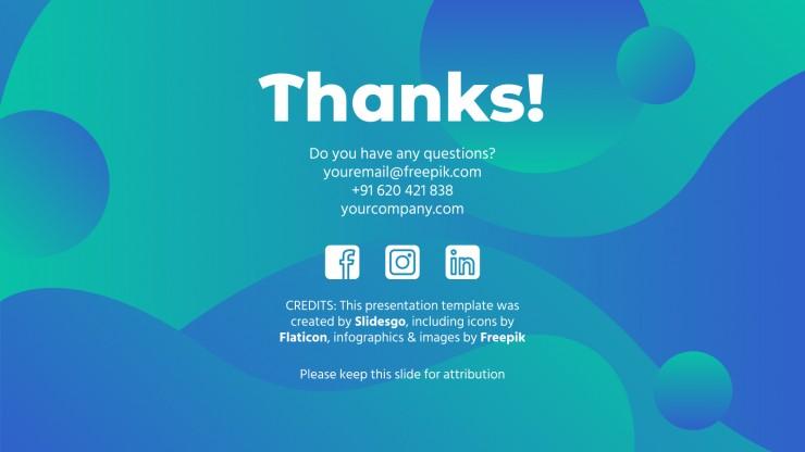 Plantilla de presentación Plan de marketing para anuncios online