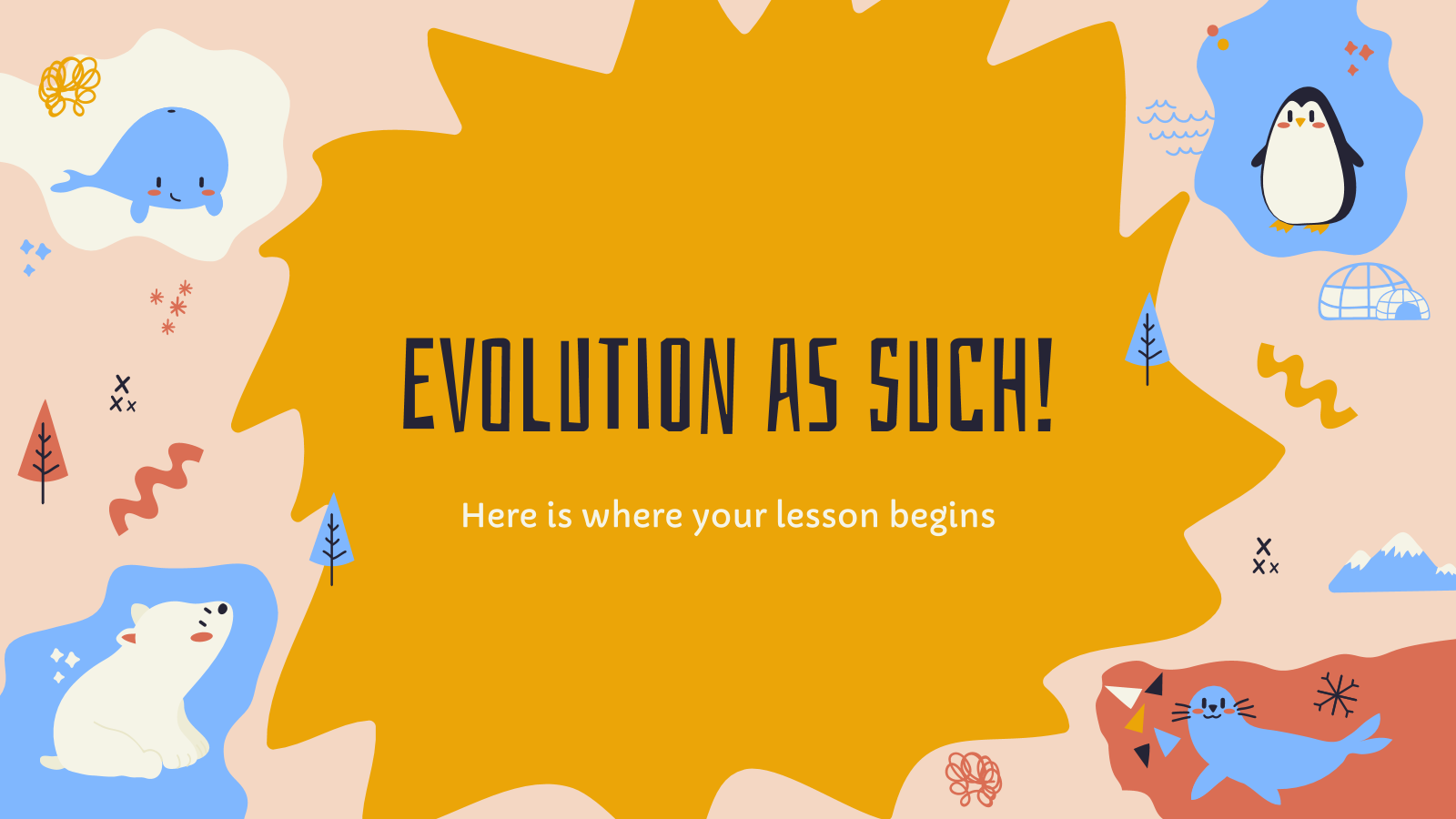 Evolution as Such! presentation template