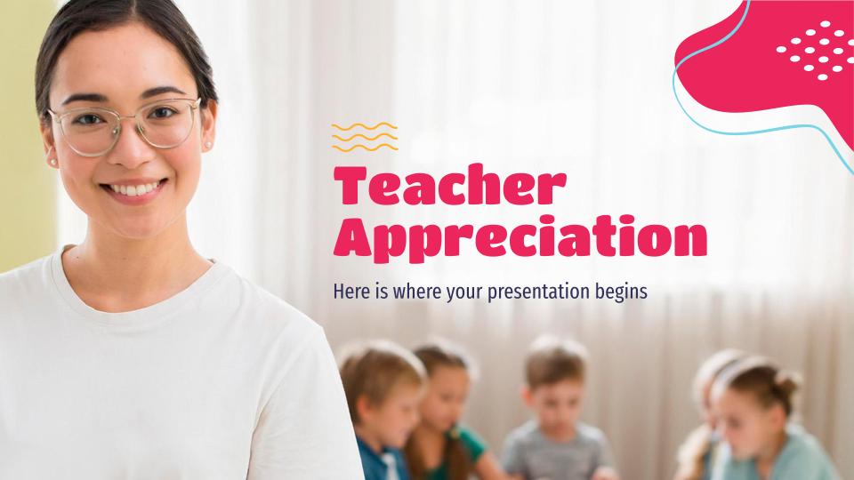 Appréciation des enseignants : Modèles de présentation