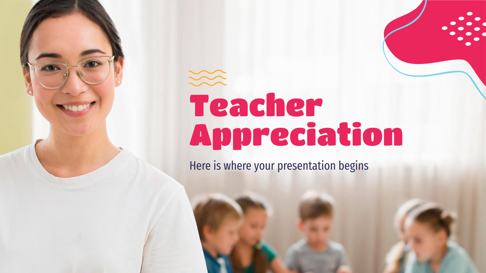 Teacher Appreciation presentation template