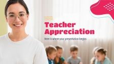 Teacher Appreciation presentation template