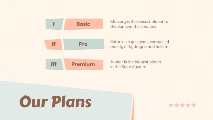 Modelo de apresentação Plano de negócios para pousadas
