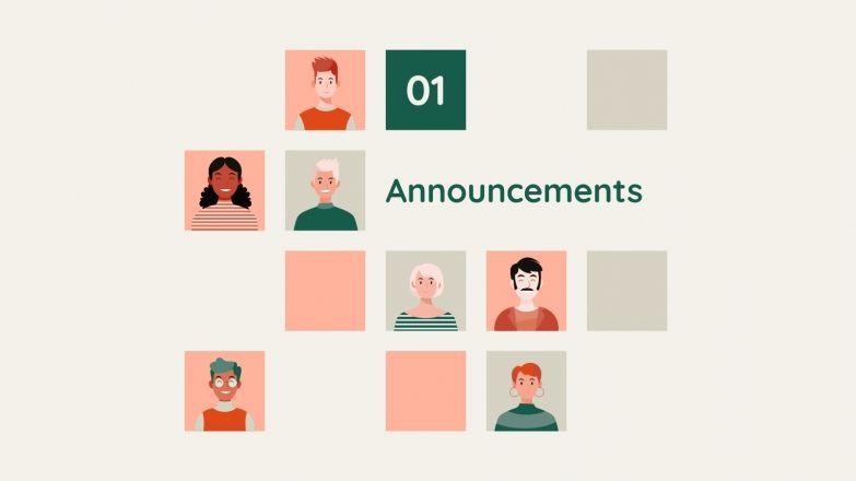 Plantilla de presentación Newsletter a favor de la diversidad