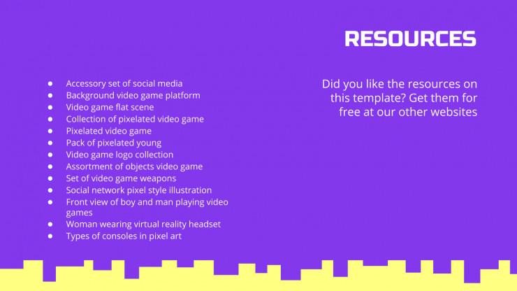 Cours jeu d'arcade : Modèles de présentation