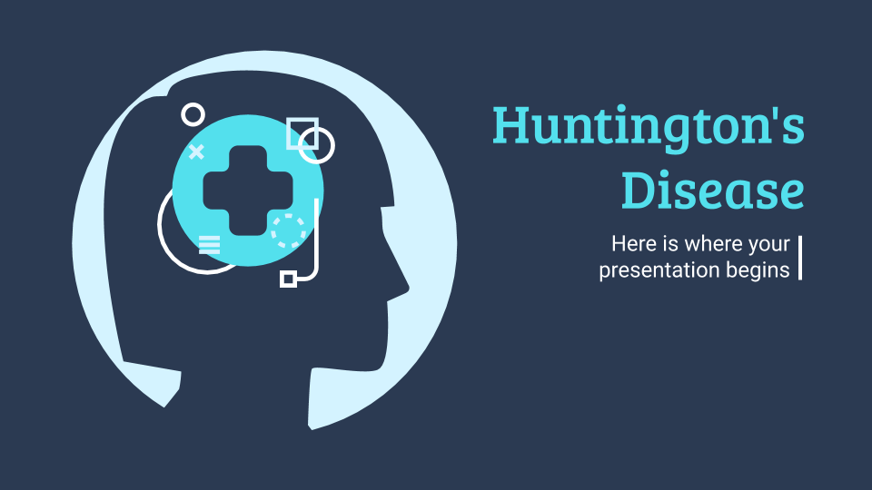 Huntington's Disease presentation template