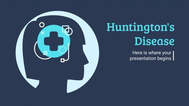 Modelo de apresentação Doença de Huntington