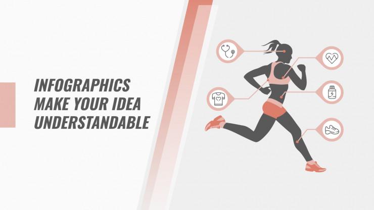 Woman Workout presentation template