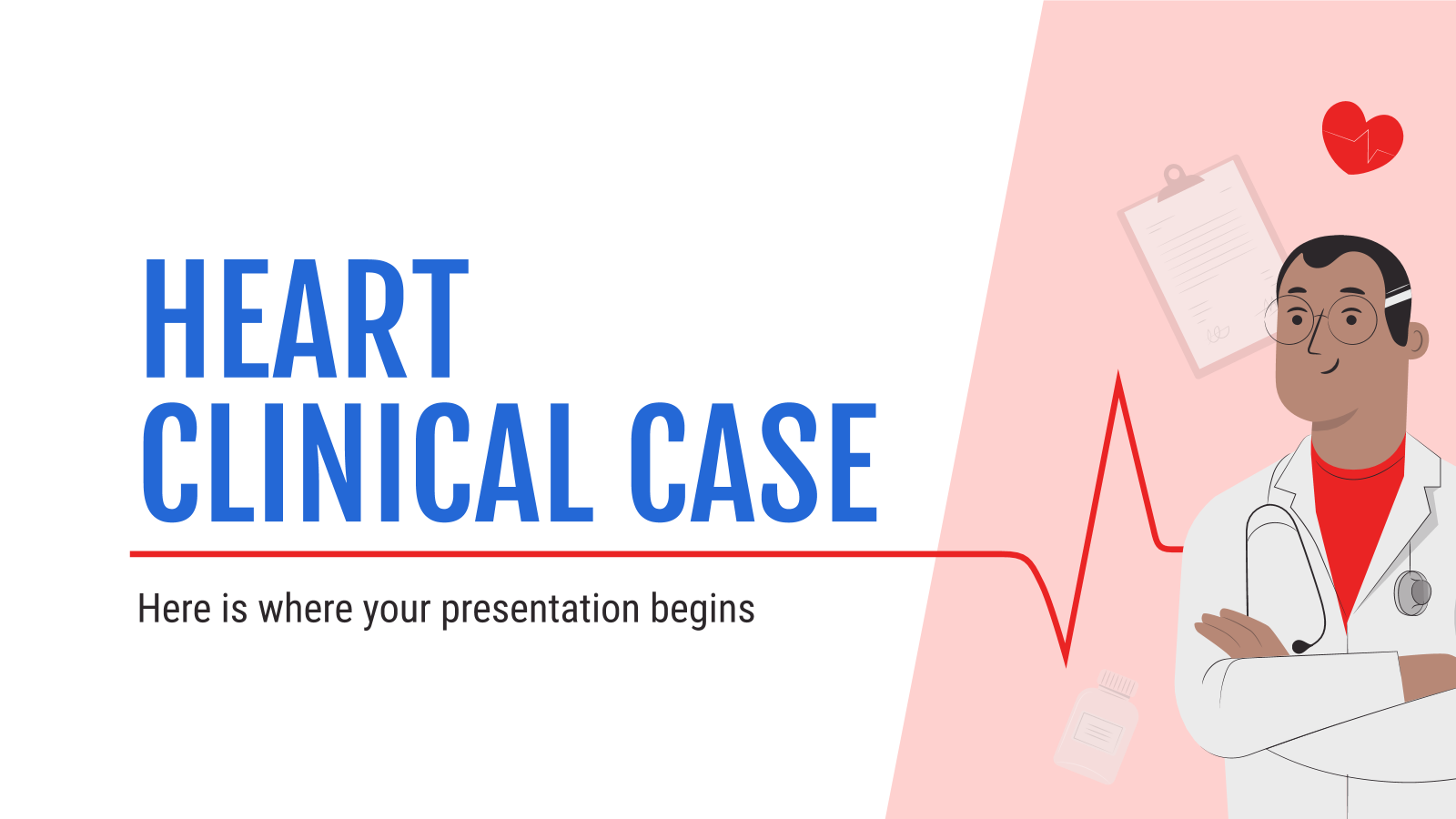 Heart Clinical Case presentation template