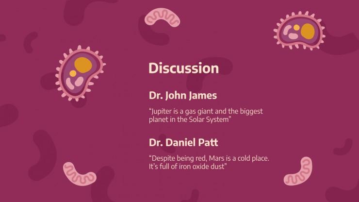 Cas clinique de diphtérie : Modèles de présentation