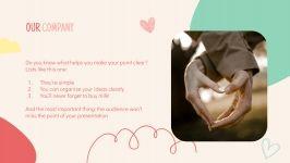 Plantilla de presentación Temporada de San Valentín