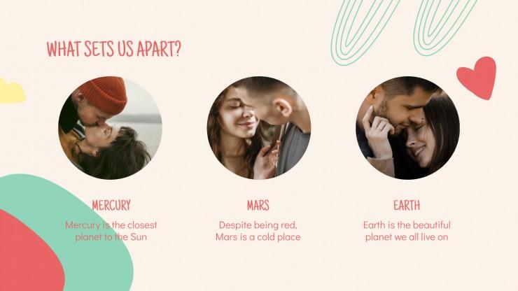 Saison de la Saint-Valentin : Modèles de présentation