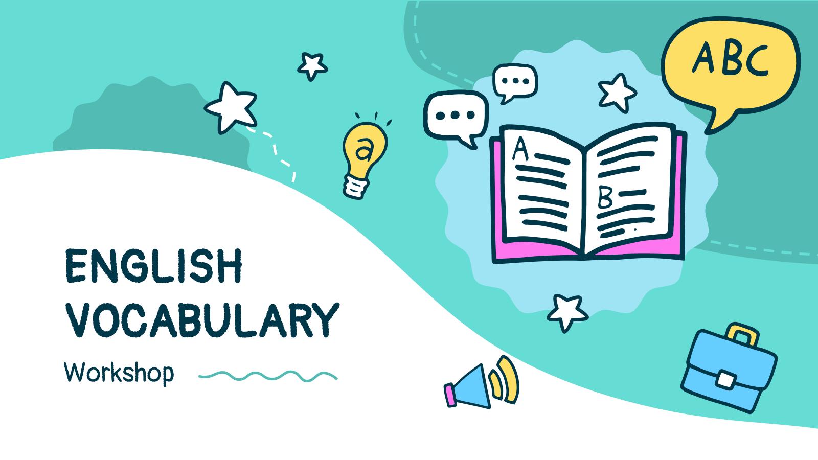 Atelier sur le vocabulaire anglais : Modèles de présentation