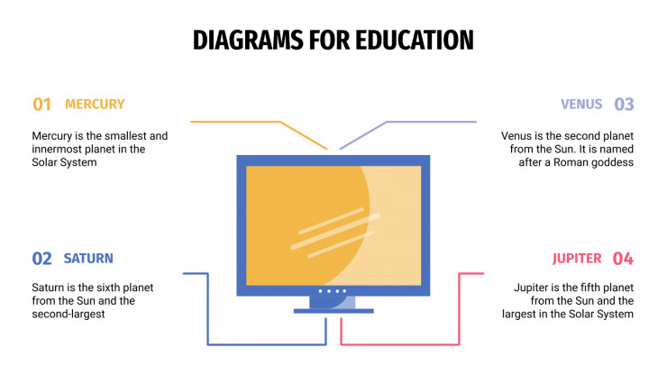 Diagrams for Education presentation template