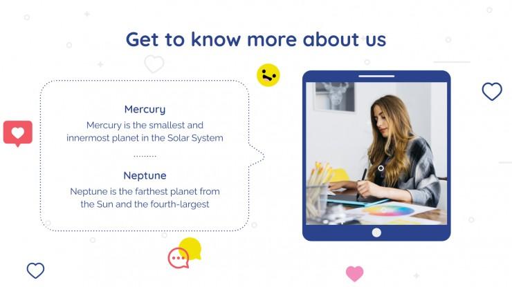 Social Media Agency presentation template