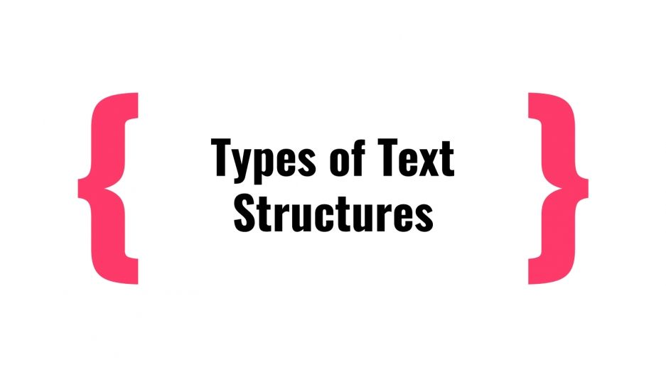Learning Text Structures presentation template