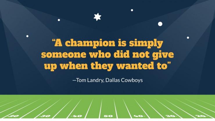 Plantilla de presentación ¡El día de la Super Bowl!
