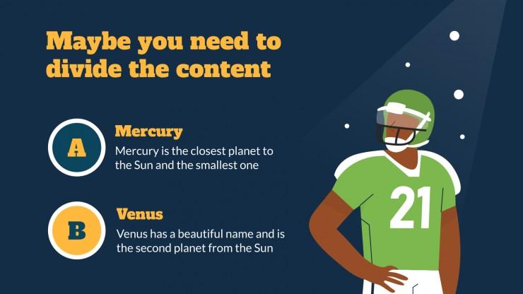 Super Bowl Day! presentation template