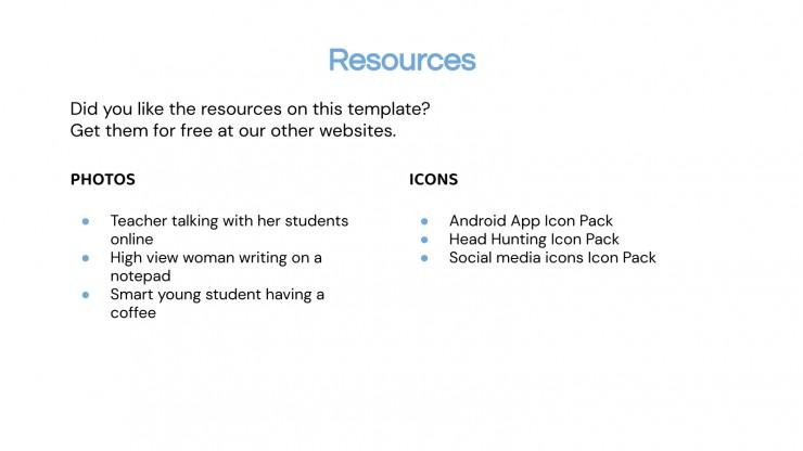 Idu Challenge Board for Teachers presentation template
