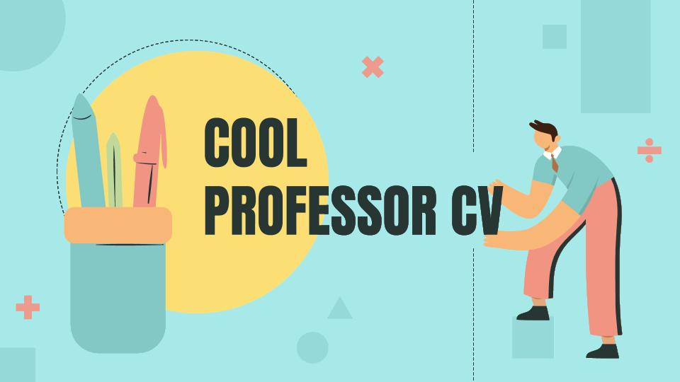 CV de professeur tendance : Modèles de présentation