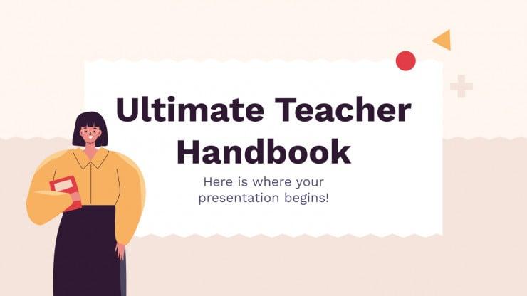 Modelo de apresentação Manual docente