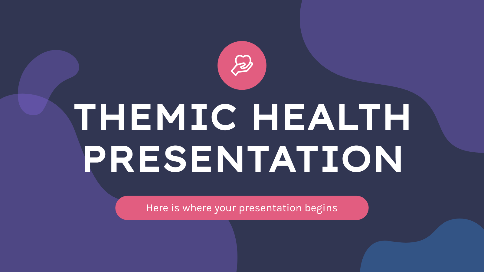 Themic Health presentation template